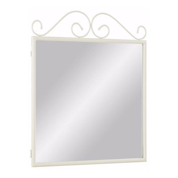Biele kovové zrkadlo Støraa Isabelle