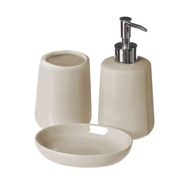 Béžový kúpeľňový set Premier Housewares Moon