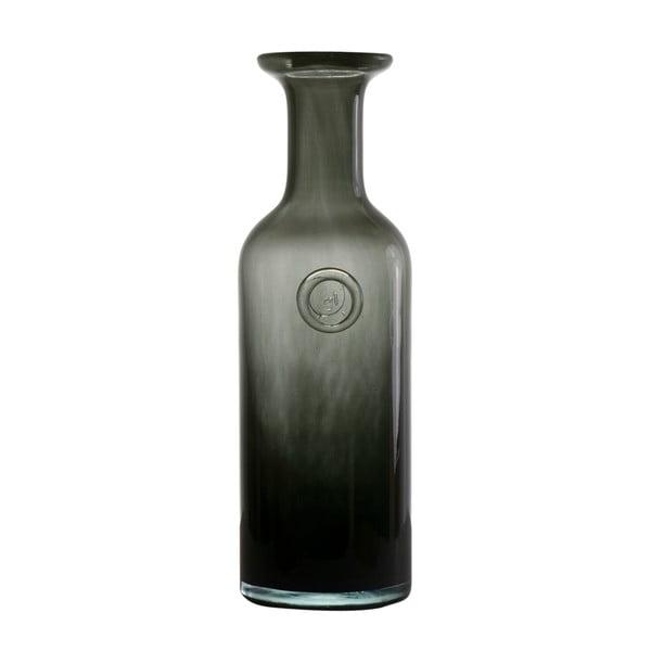 Sklenená karafa Gie El, olivovo zelená