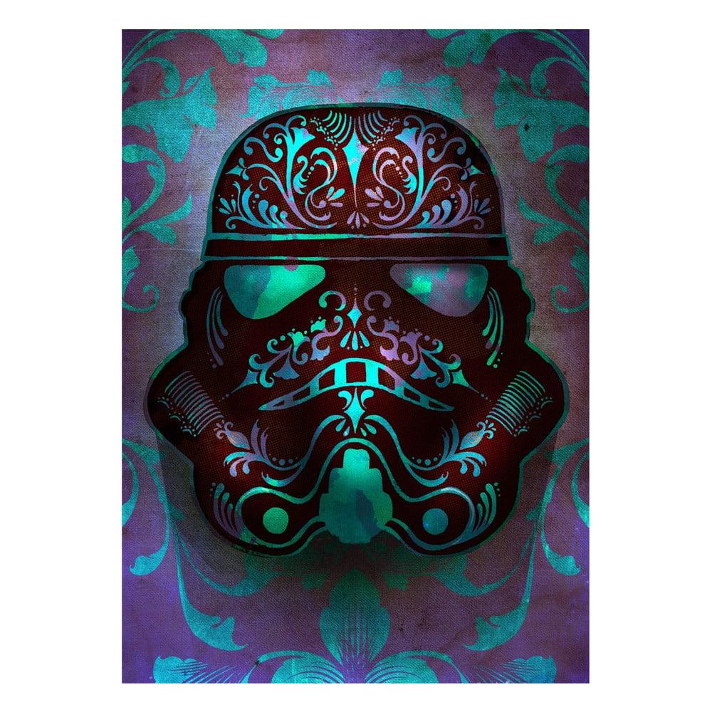 Nástenná ceduľa Masked Troopers - Fluid