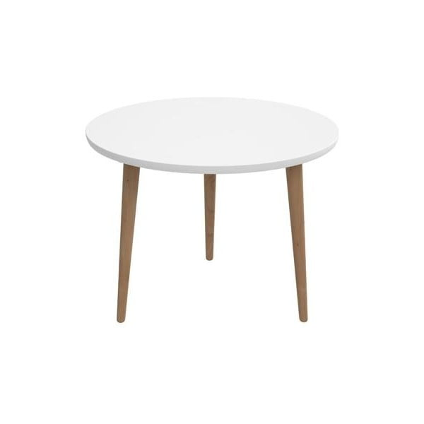 Stôl D2 Bergen, 60 cm, biely