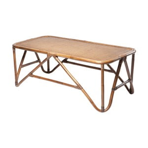 Ratanový konferenčný stolík RGE Sismondi, 127 x 65 cm