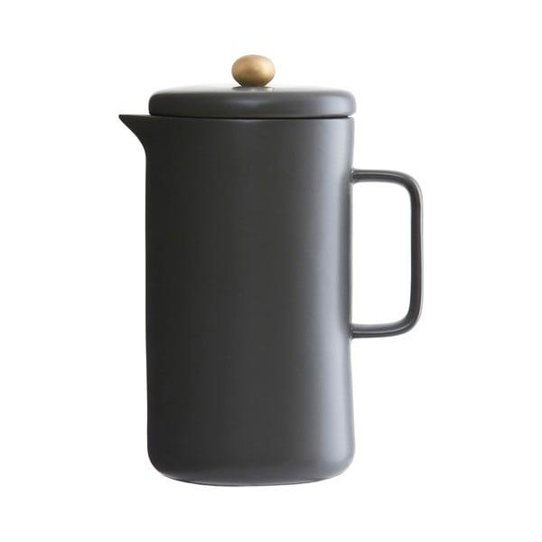 Porcelánová kanvica Milky, čierna