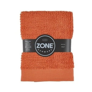 Oranžový uterák Zone, 70x50 cm