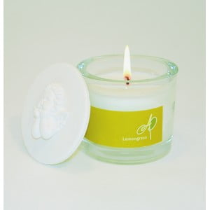 Aromatická sviečka THD Fragnances, voňatka citronová