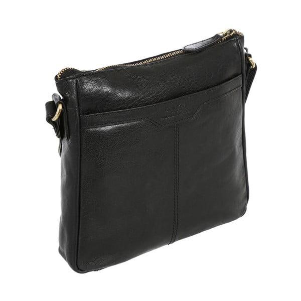 Dámska kožená taška Shirley Black