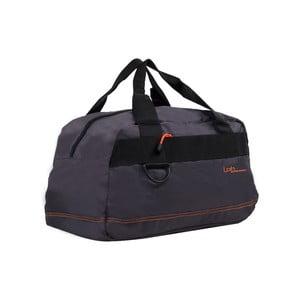 Sivá cestovná taška s oranžovýmlemom Les P'tites Bombes Toulouse, 17 l