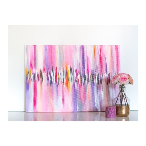 Obraz Pink Abstract, 50x70 cm