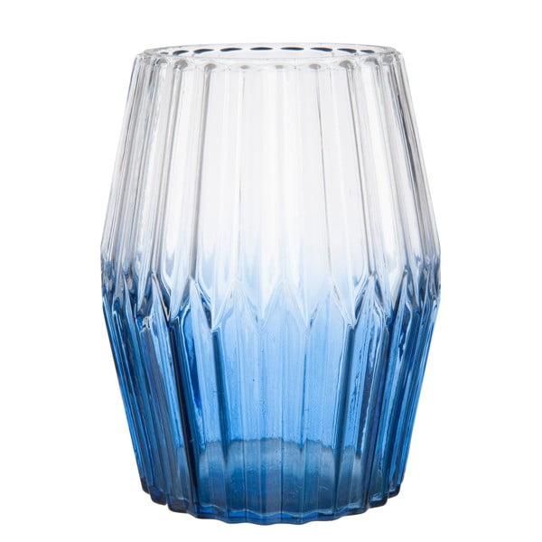 Váza Glass in Dark Blue, 15 cm