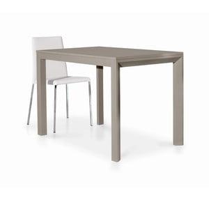 Béžový drevený rozkladací jedálenský stôl Castagnetti Avolo, 130cm