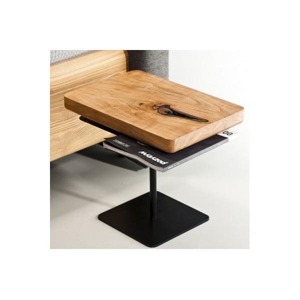 Nočný stolík z jelšového dreva Mazzivo Moon