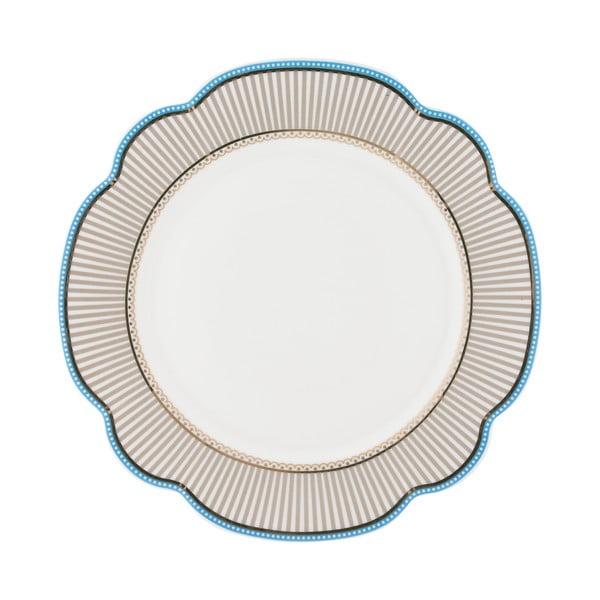 Porcelánový tanier Beach od Lisbeth Dahl, 24 cm, 4 ks