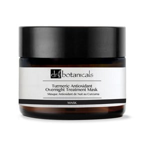 Vyživujúca nočná pleťová maska Dr. Botanicals DB Turmeric Antioxidant Overnight Treatment, 50 ml
