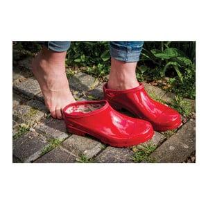 Gumové topánky Caravan Daisy Red, veľ. 39