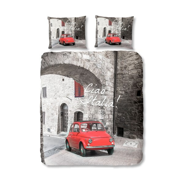 Obliečky Italia Red, 200x200 cm