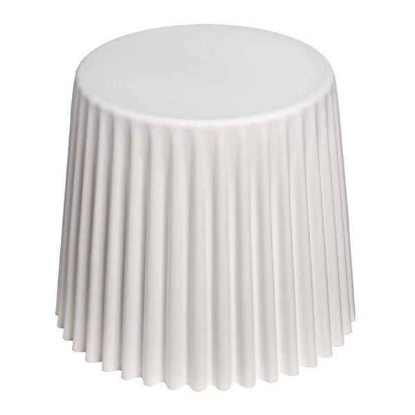 Stolík D2 Cork, biely