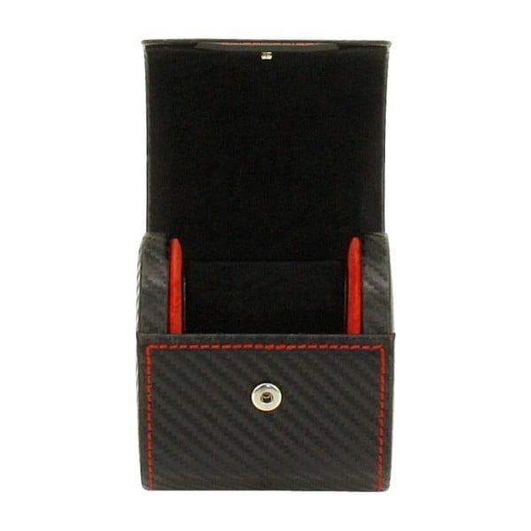 Čierny box na hodinky Carbon