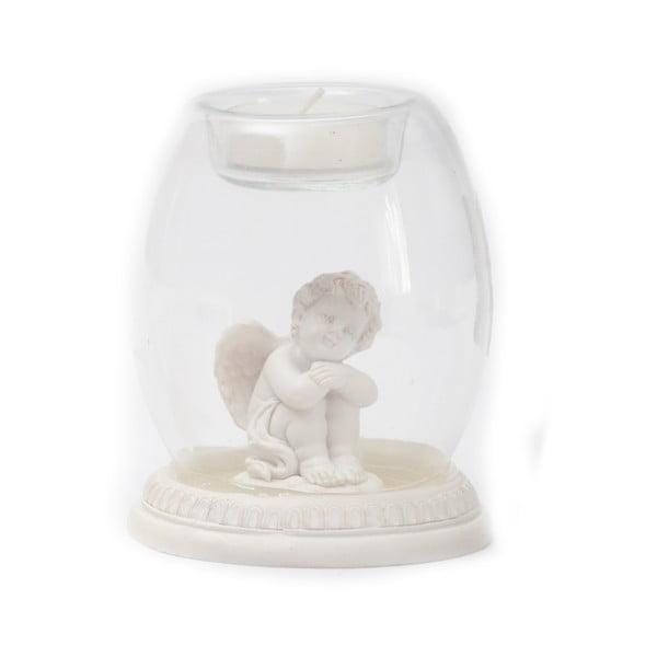 Stojan na sviečku s anjelikom Angel