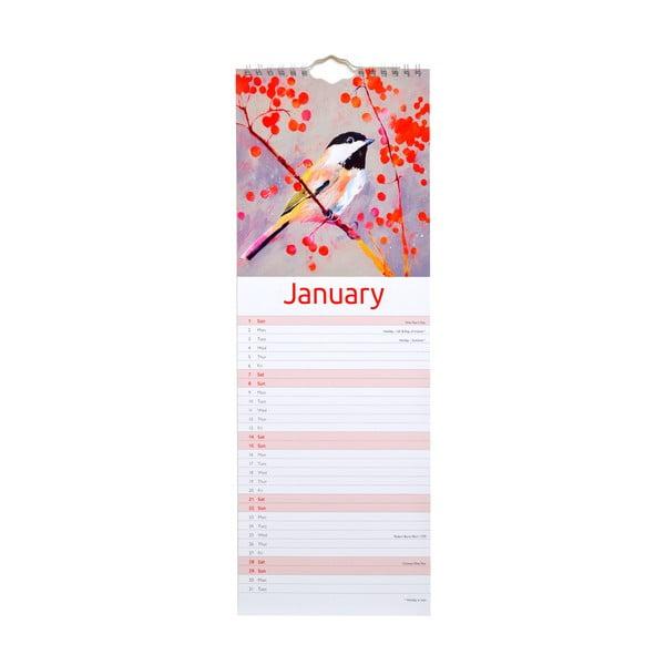 Úzký kalendár Portico Designs Carolyn Carter