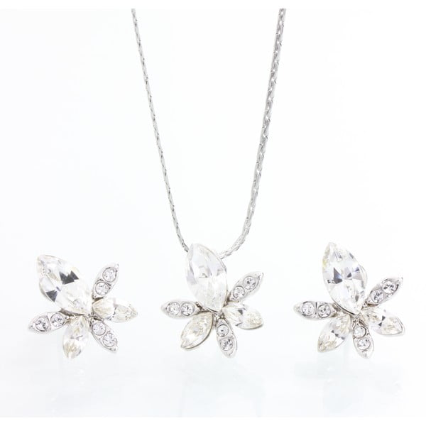 Set náhrdelníka a náušníc s krištáľmi Swarovski Elements Laura Bruni Hermosa