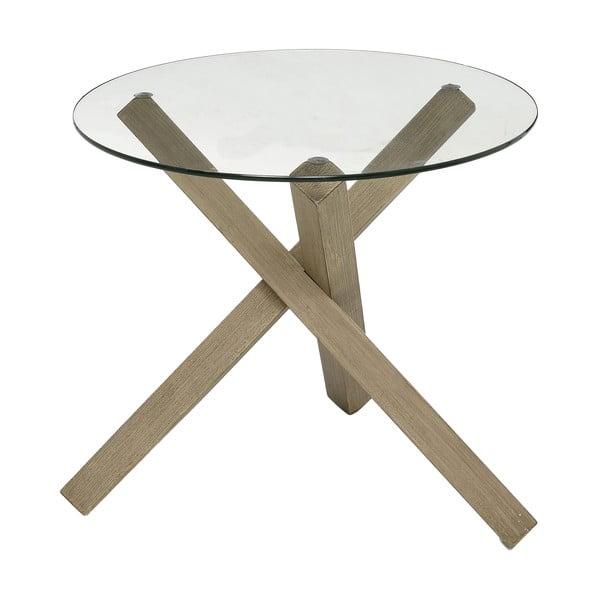 Odkladací stolík Trio Krista, 52x52x48 cm