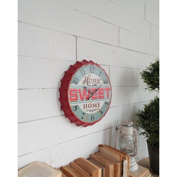 Nástenné hodiny Sweet Home, 34 cm