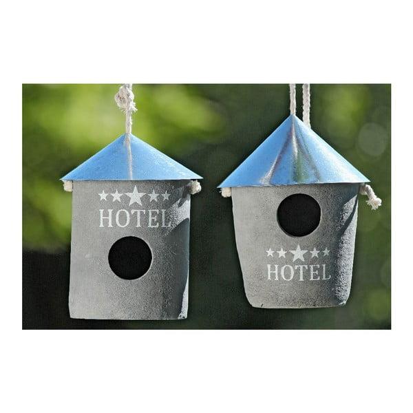 Set 2 domčekov pre vtáčiky Hotel