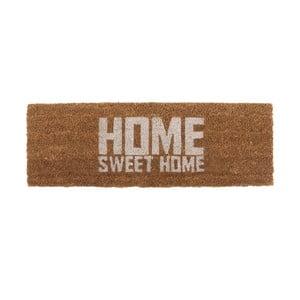 Rohožka s bielym nápisom PT LIVING Home Sweet Coir, 75×26cm