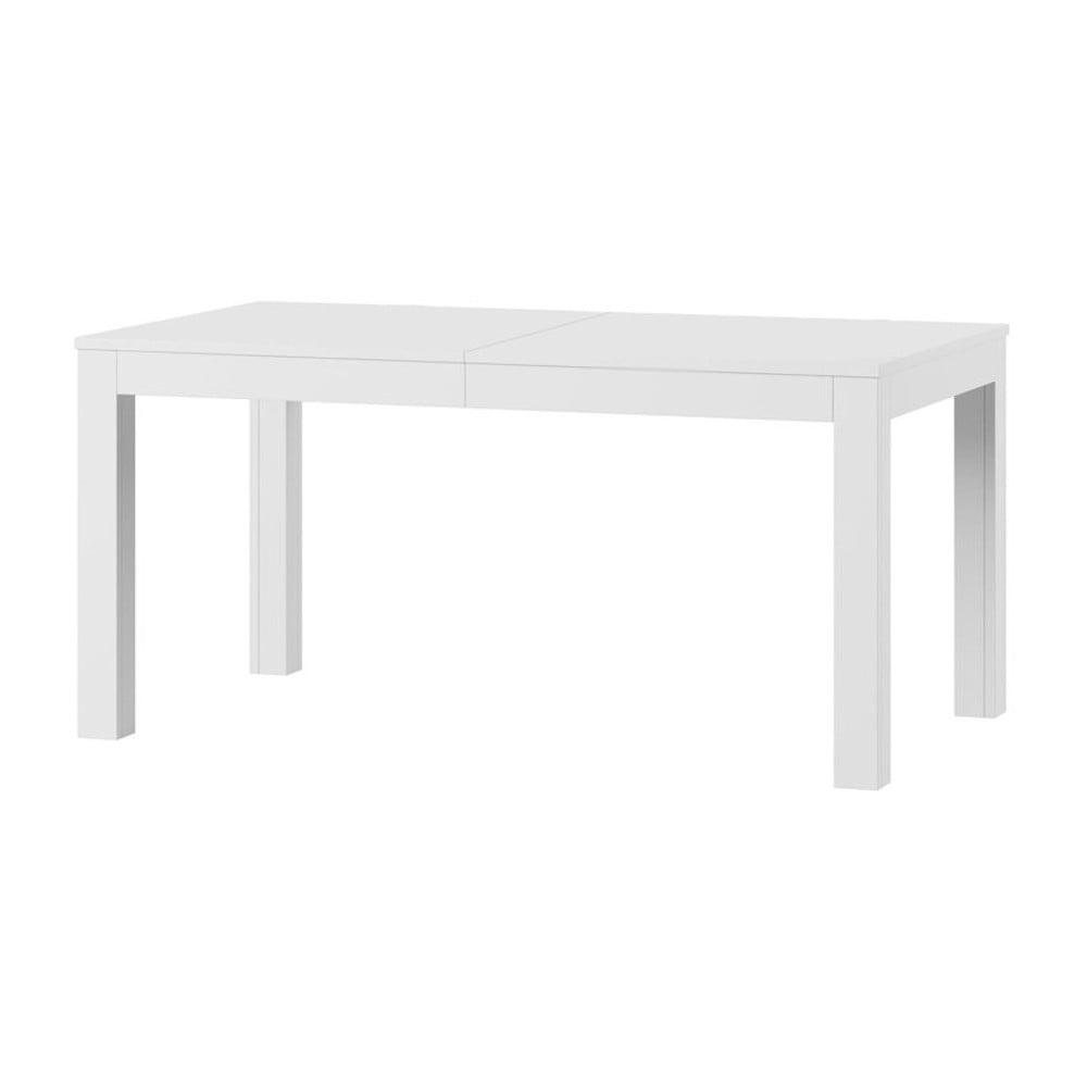 Biely rozkladací jedálenský stôl Szynaka Meble Wenus