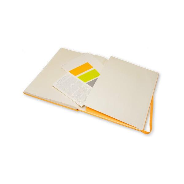 Zápisník Moleskine Pro Orange, extra veľký