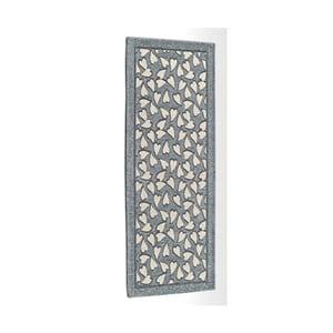 Sivý vysokoodolný kuchynský koberec Webtapetti Corazon, 55 x 115 cm