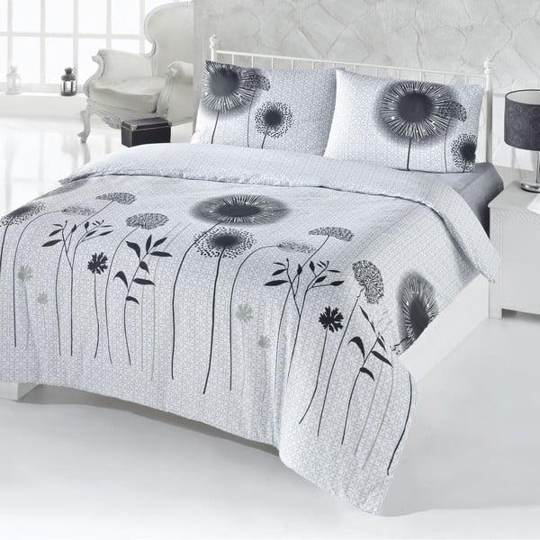 Obliečky s plachtou White And Black, 200×220 cm