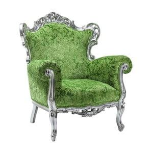 Zelené kreslo Kare Design Posh