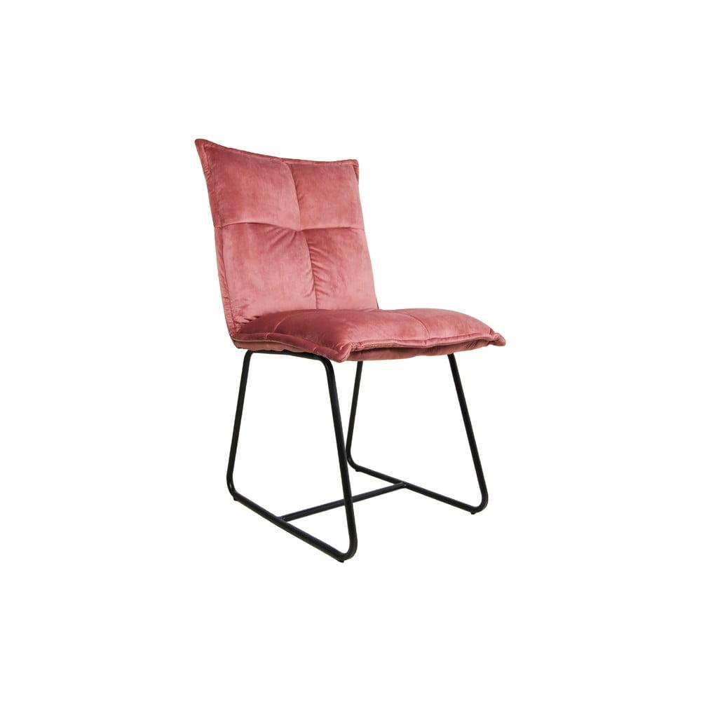 0ad7bf26633f Ružová jedálenská stolička HMS collection Estelle