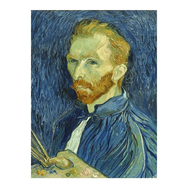 Obraz Vincenta van Gogha - Self-Portrait, 40x30 cm