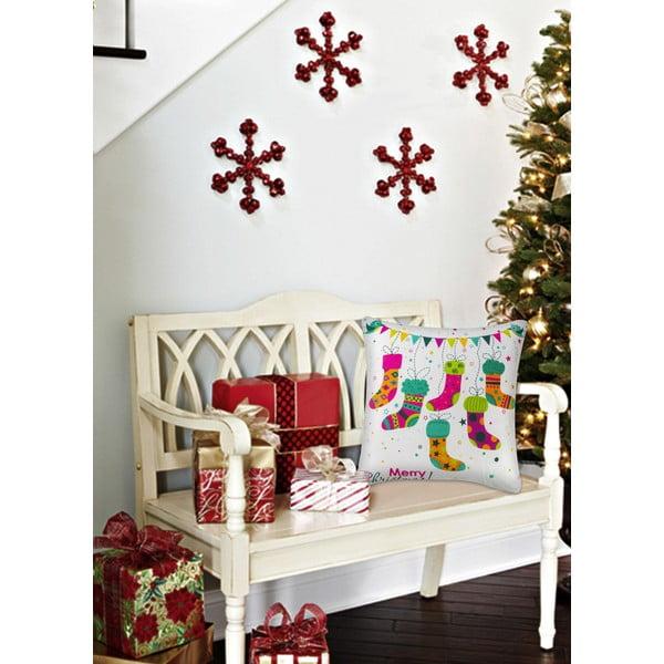 Vankúš Christmas V29, 45x45 cm
