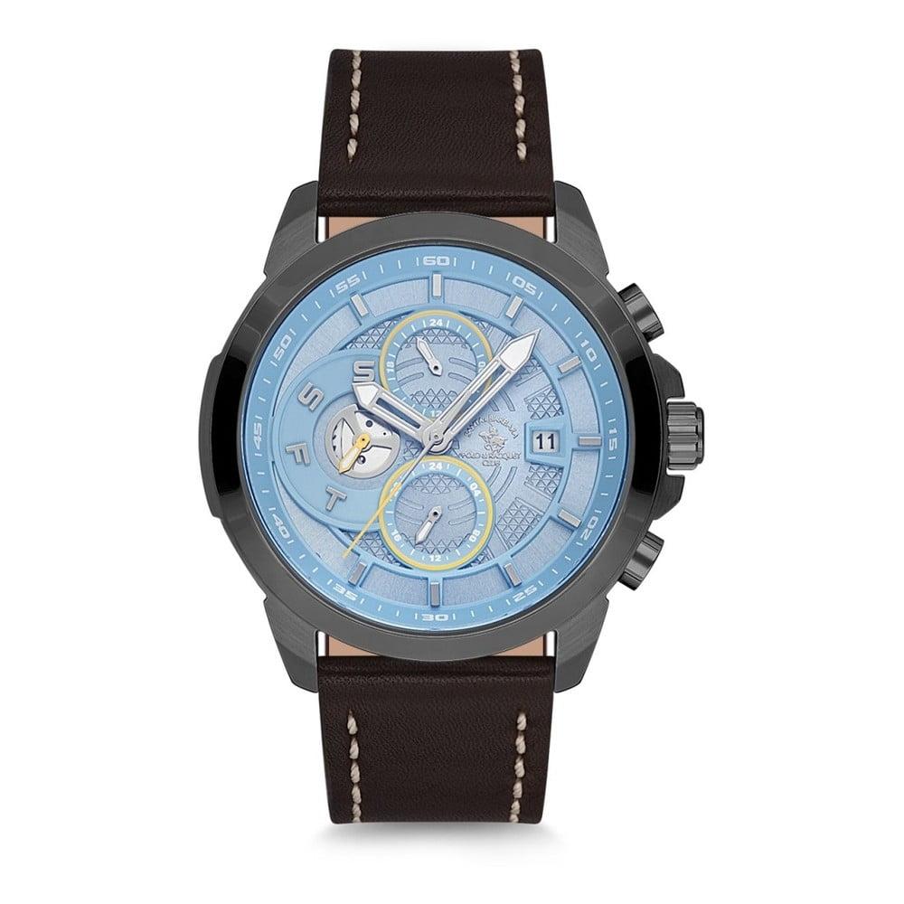 Pánske hodinky s koženým remienkom Santa Barbara Polo & Racquet Club Diver