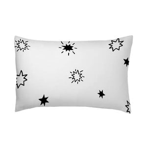 Obliečka na vankúš Estrellas Negro, 50x70 cm