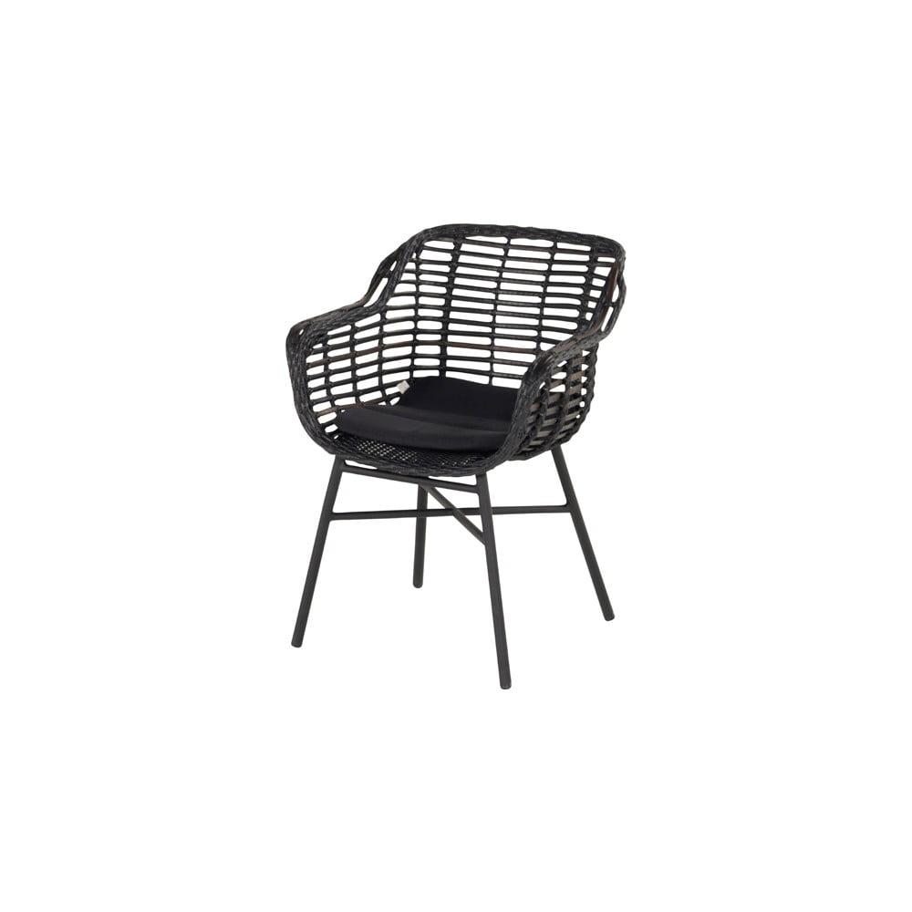 Čierna záhradná stolička Hartman Cecilia