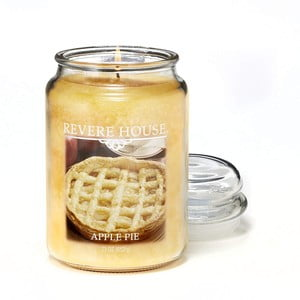 Vonná sviečka v skle s vôňou jablkového koláča Candle-Lite, doba horenia až 120 hodín