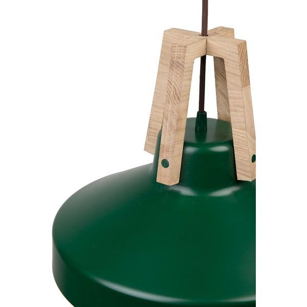 Zelené stropné svetlo Loft You Work, 44 cm