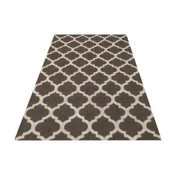 Ručne tkaný koberec Andrea Grey/White, 140x200 cm