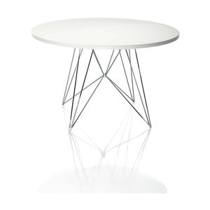 Biely jedálenský stôl Magis Bella, ø 72 cm