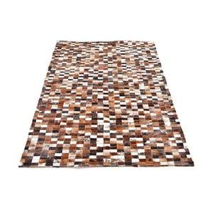 Koberec z kože Mosaik, 193x143 cm