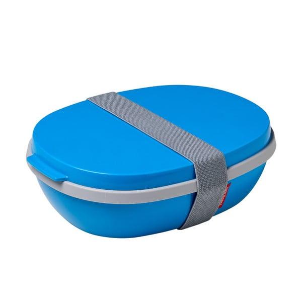 Modrý obedový box Rosti Mepal Ellipse