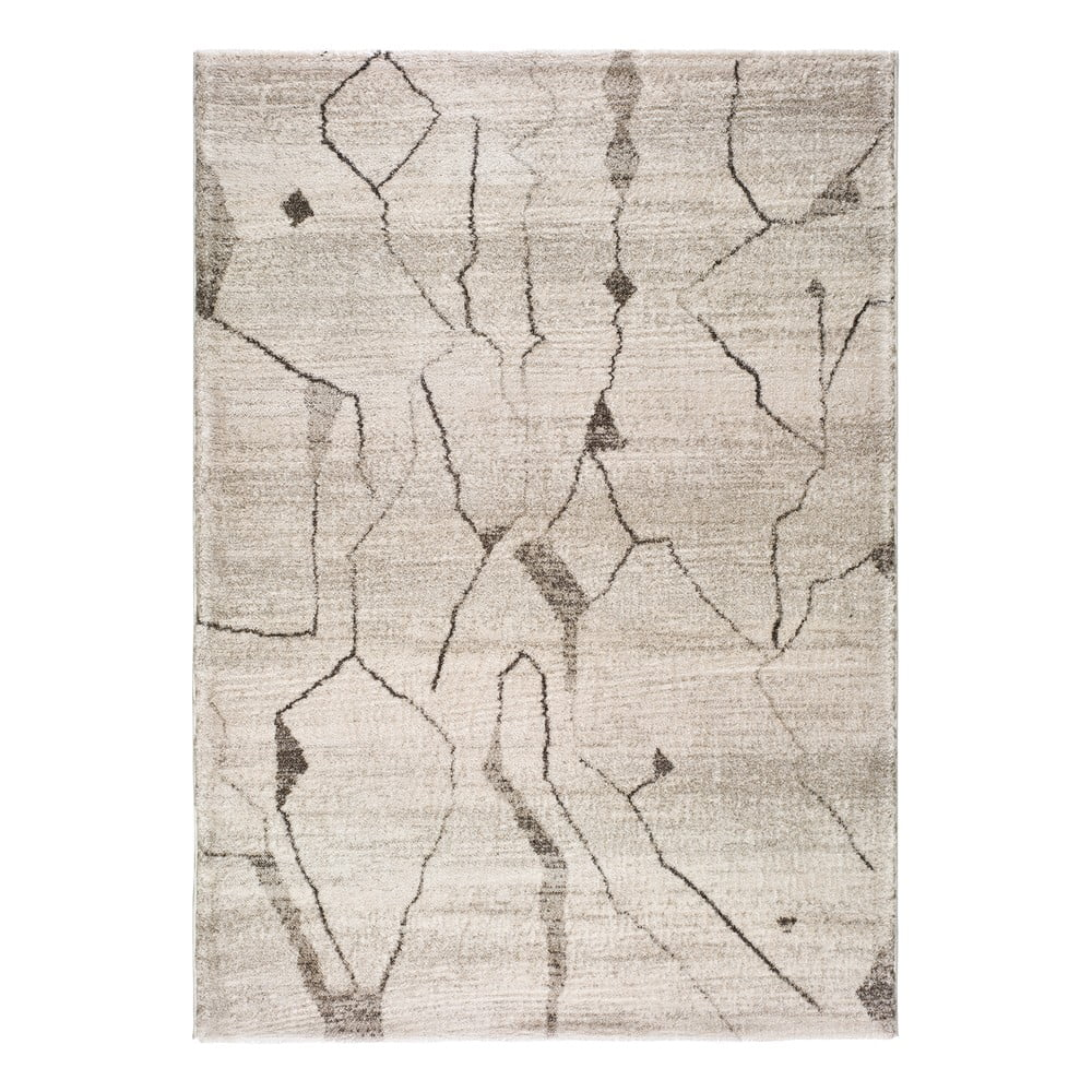 Krémovobiely koberec Universal Moana Creo, 135 x 190 c m