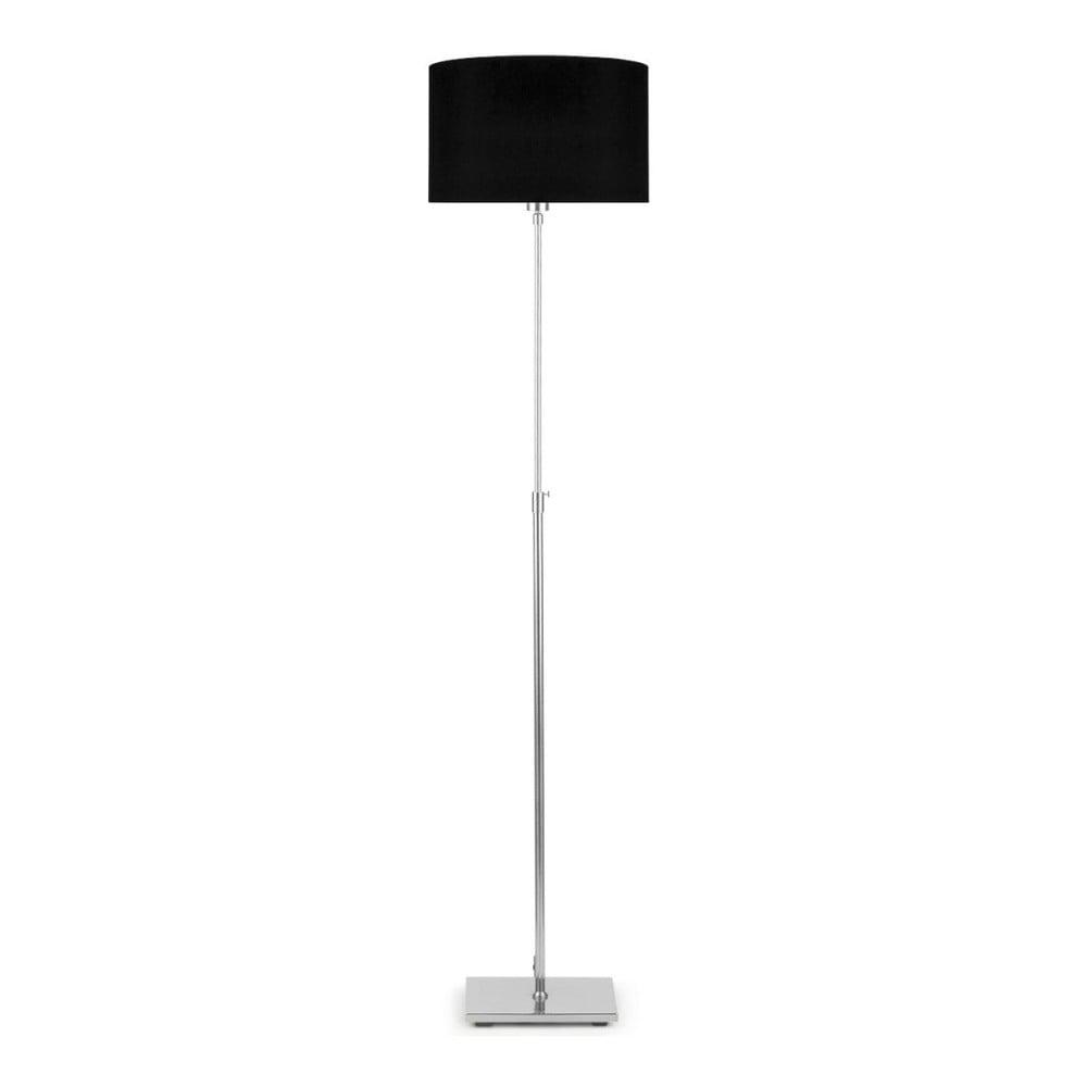 Sivá voľne stojacia lampa s čiernym tiendilom Citylights Bonn