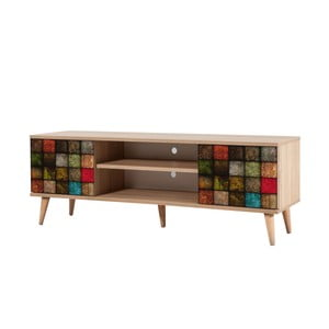 TV stôl Truva Square, šírka 140 cm
