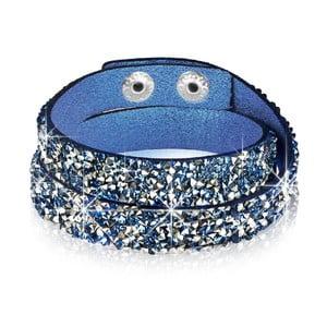 Náramok Blue Shine, 34 cm
