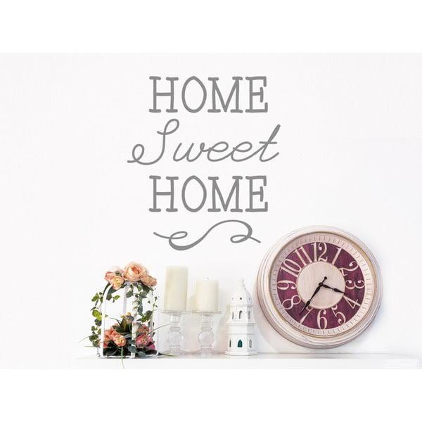 Dekoratívna nástenná samolepka Sweet Home
